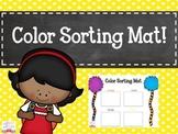 FREE Color Sorting Mat