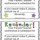 FREE Conference Reminder Note