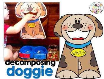 FREE Decomposing Doggie Number Bond Pet