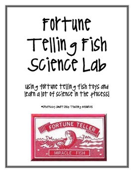 FREE Fortune Telling Fish Lab