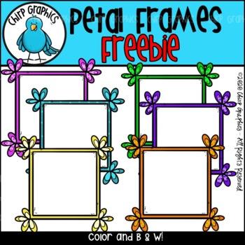 FREE Frames with Petal Corners