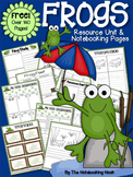 FREE Frogs Resource Unit and Notebooking Pages *Over 140 Pages*
