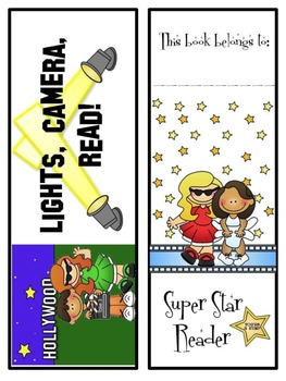 FREE Hollywood/Movie Themed Bookmarks