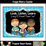 FREE Literacy Resource--Look,Listen,Learn 4 More Long O Vo