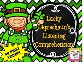 FREE! Lucky Leprechaun's Listening Comprehension