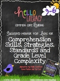 FREE Mentor Text Lists for Reading Literature Standards {3-6}