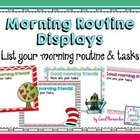 FREE Morning Routine Display [Editable] for PowerPoint
