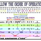 {FREE} Order of Operations Poster