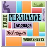 FREE Persuasive Language Worksheets