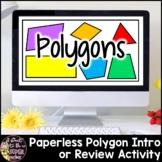 Polygon Introduction Slideshow PDF Freebie