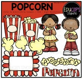 FREE Popcorn Clip Art Bundle