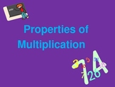 FREE  Properties of Multiplication PowerPoint