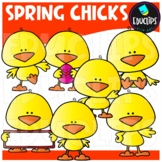 FREE Spring Chicks Clip Art Bundle
