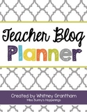 FREE Teacher Blog Planner