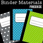 *FREE* Teacher Organization Binder