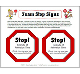 FREE Team Stop Signs