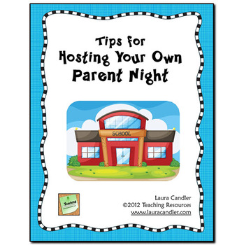 FREE Tips for Hosting Your Own Parent Night