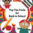 FREE Top 10 Tools for Back to School (checklist, lessons,