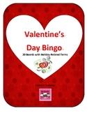 FREE Valentine's Day Bingo 20 Cards