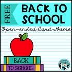 {FREEBIE}  Back to School Reinforcement Game