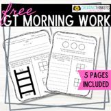 FREEBIE Challenge Daily Morning Work Week 1 2nd Grade