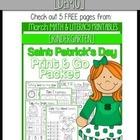 (FREEBIE DEMO) March PRINT & GO Packet [Kindergarten]