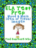 FREEBIE! ELA Test Prep - Find Someone Who - Visual Images