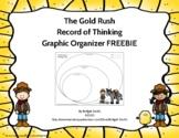 {FREEBIE} Gold Rush Graphic Organizer