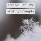 FREEBIE January Writing Prompts preview