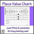FREEBIE - Place Value Chart