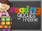 FREEBIE Reading Goals!