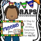 FREE Step by Step Writing Response Strategy for Math Perfo