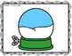 FREEBIE!  Winter Wonderland Playdough Mats