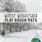 Winter Wonderland Playdough Mats