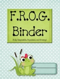 FROG Binder Starter Kit