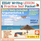 FSA Argumentation Writing NO PREP Practice Packet
