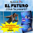 FUTURE TENSE:  Awesome Future PowerPoint in Spanish