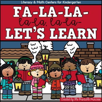 December / Christmas Literacy & Math Centers