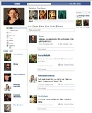 Facebook Page Template for any Content Area