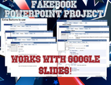 Facebook/Fakebook PowerPoint Project