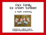 Fact Family Sundaes
