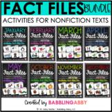 Fact Files BUNDLE: Informational Text