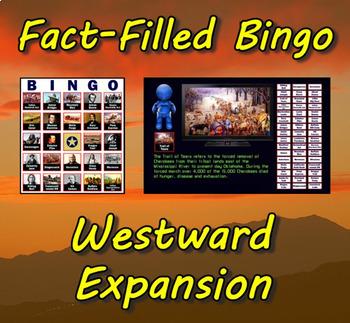 Fact-Filled Bingo - Westward Expansion