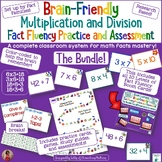 Brain Friendly Multiplication and Division Fact Practice a