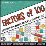 Factors of 100: Patterns with Arrays, Factors and Multiples Unit