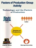 Factors of Production Group Activity