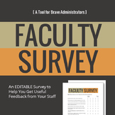 Faculty Survey