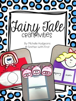 Fairy Tale Craftivities {FREEBIE}