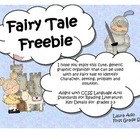 Fairy Tale Freebie - Characters, Setting, Problem and Solution