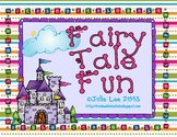 Fairy Tale Fun Math & Literacy Centers
